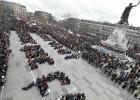 Jovens lançam grande protesto contra reforma trabalhista francesa
