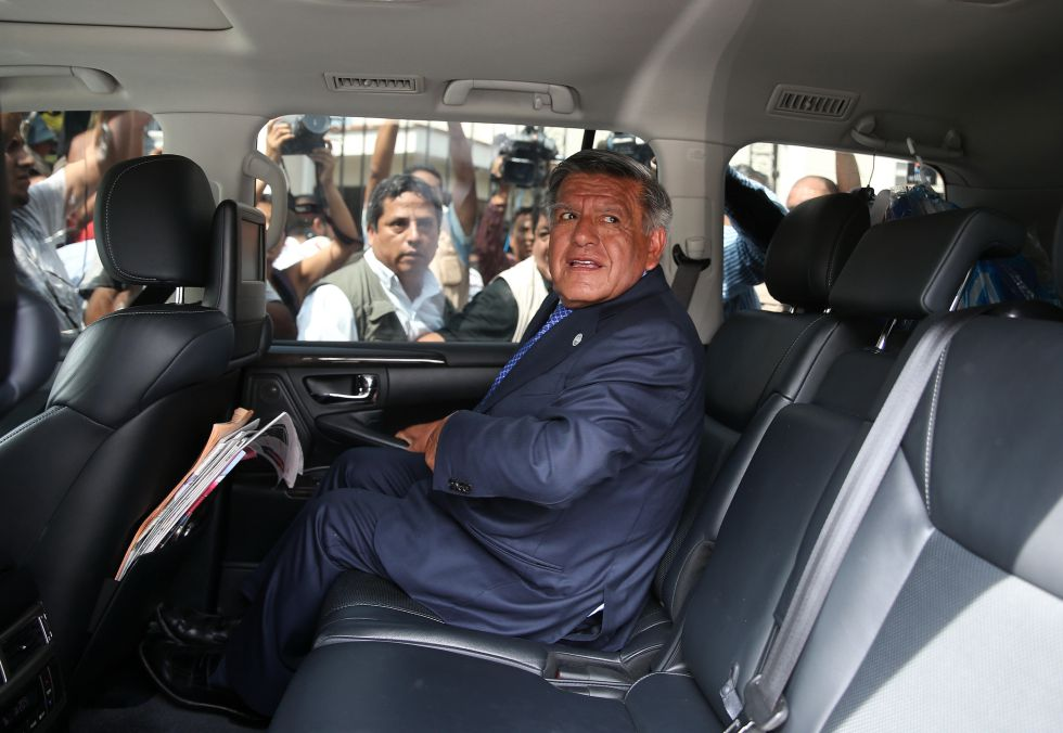 El empresario César Acuña, candidato a las elecciones presidenciales.