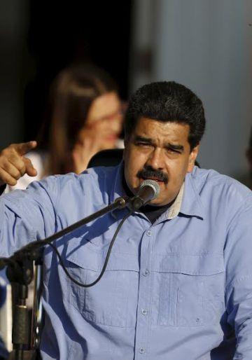 El presidente de Venezuela Nicolás Maduro, el pasado martes en Caracas.