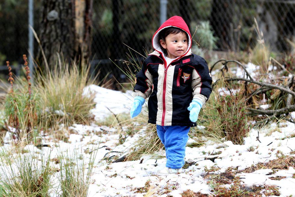 La región montañosa del Ajusco es una de las que podrían presentar nevadas.