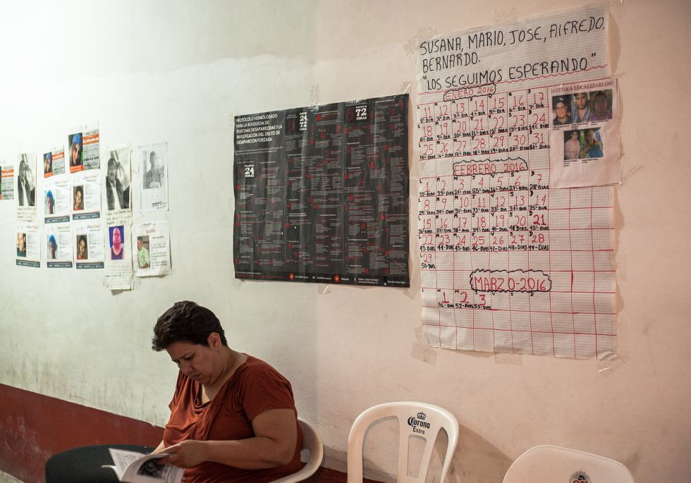 El calendario de los ausentes: los cinco jovenes llevan casi 60 días desaparecidos.