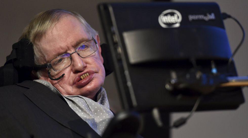 El científico británico Stephen Hawking, en un certamen celebrado en Londres en diciembre.