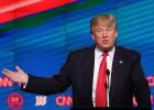 Los candidatos republicanos aparcan los insultos en Florida