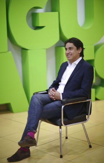 Ricardo Fuentes-Nieva, director de Oxfam México, este jueves en Madrid.