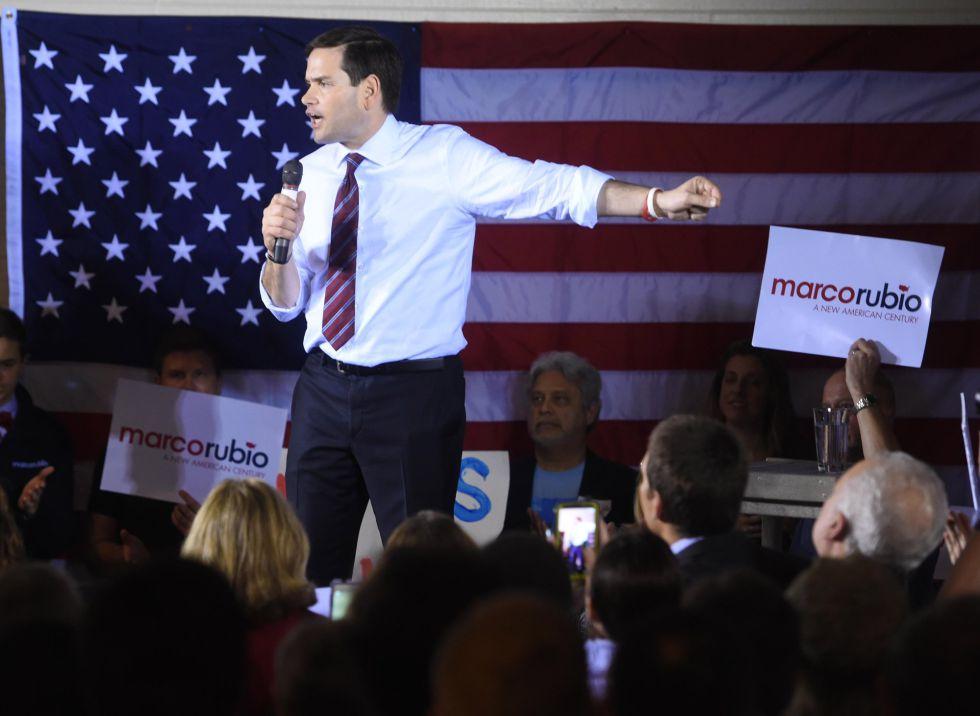 Marco Rubio, este sábado