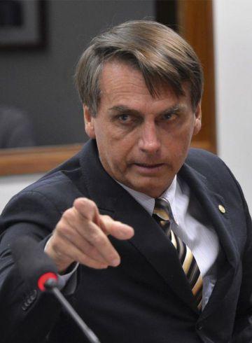 El diputado Jair Bolsonaro.