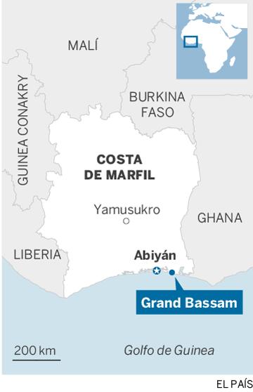 Al menos 16 muertos en un ataque contra una zona turística de Costa de Marfil