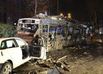 Al menos 37 muertos tras una fuerte explosión en el centro de Ankara