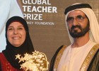 Una palestina que educa en la no violencia, 'Nobel de la enseñanza'
