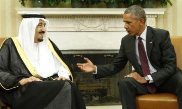 Obama, el pasado septiembre, con el rey saudí en el Despacho Oval