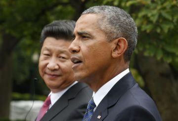 Obama, en septiembre en la Casa Blanca, con el presidente chino