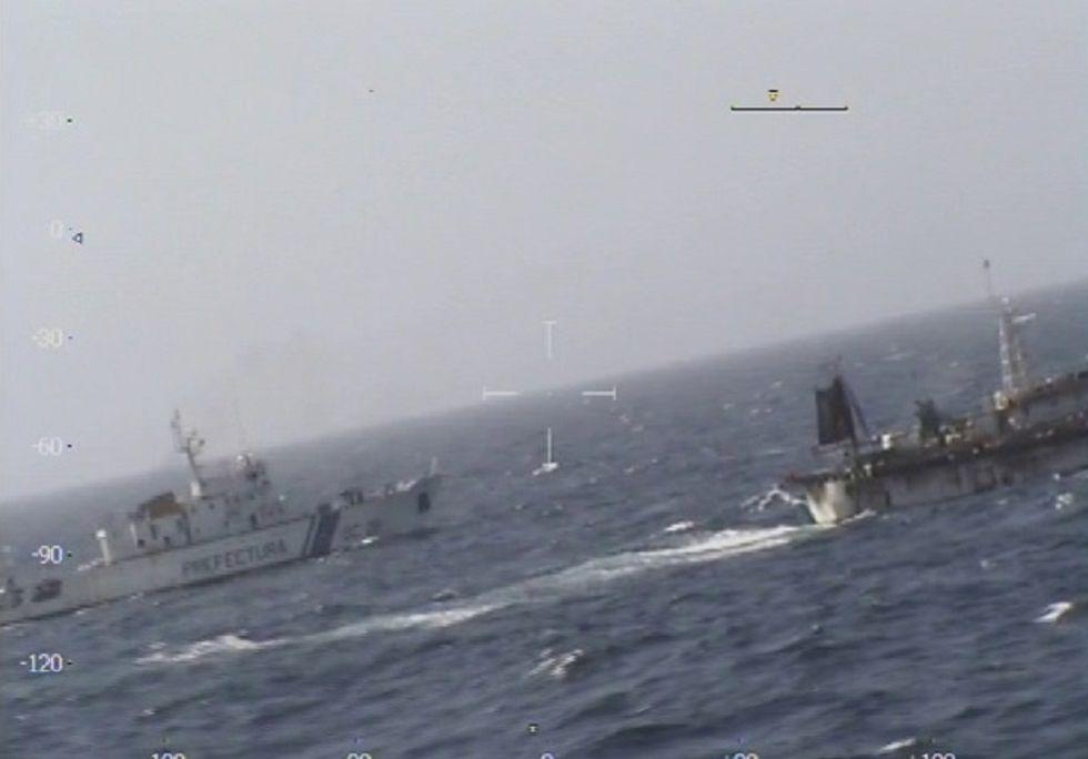 El navío argentino que hundió el pesquero chino.