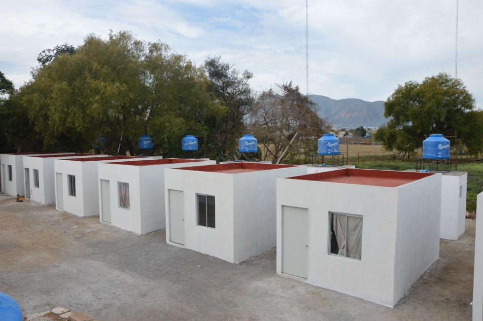 """Las """"casas"""" de Tepic."""