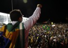 Thousands protest in Brazil over phone call from Rousseff to Lula
