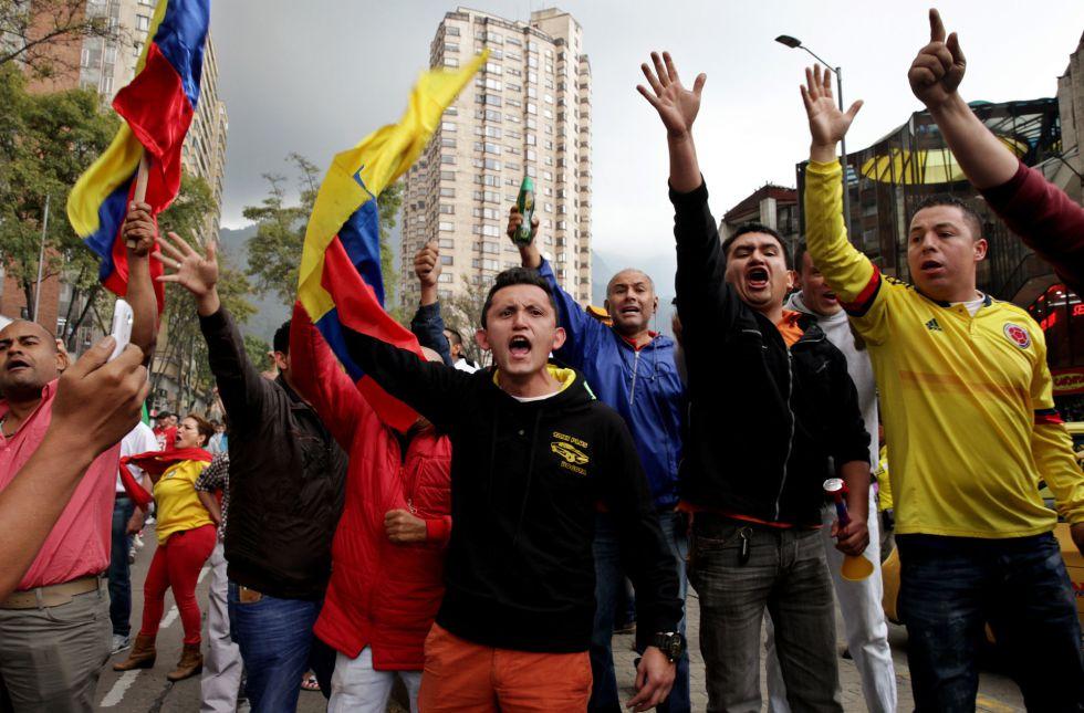 Paro Nacional 2016 en Bogota