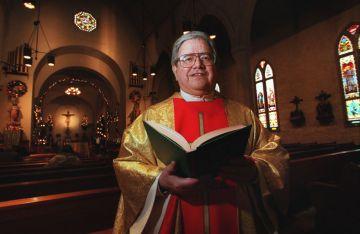 El sacerdote y teólogo Virgilio Elizondo.