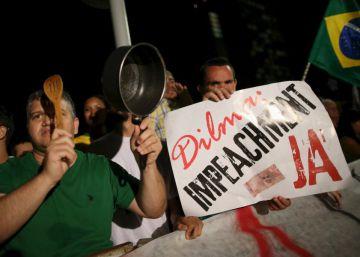 Miles de brasileños salen a las calles en apoyo de Lula da Silva y Rousseff