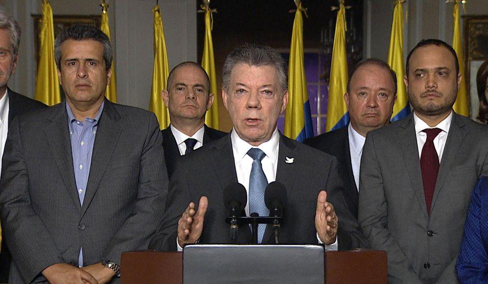 El presidente colombiano Santos calificó de injuriosa la decisión de la CIJ.