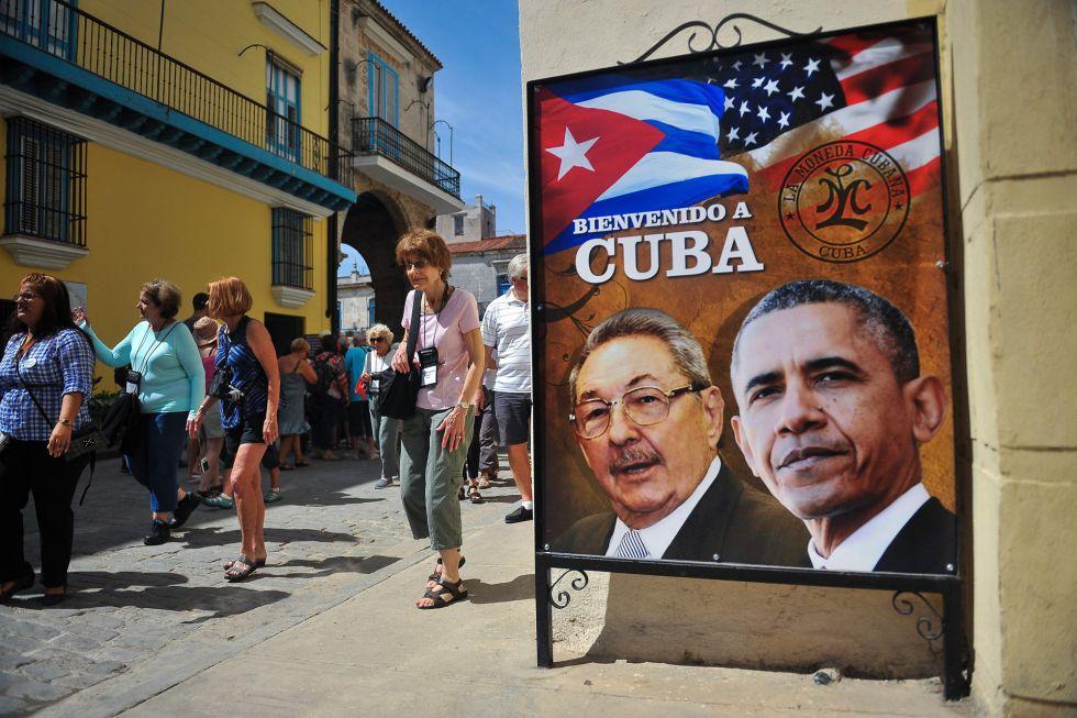 Una calle de La Habana este viernes.