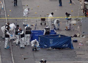 Cinco muertos y 36 heridos en un atentado suicida en el centro de Estambul