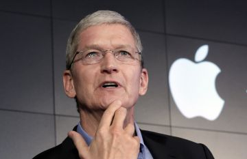 El CEO de Apple, Tim Cook.
