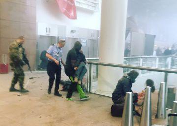 Los atentados en Bruselas, en imágenes