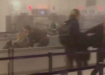 Una treintena de fallecidos en el aeropuerto y el metro de Bruselas