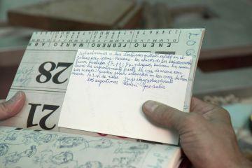 López realizó identikits y documentó todos sus recuerdos del horror.
