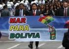 Evo Morales arremete otra vez contra Chile en el Día del Mar