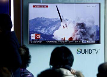 Corea del Norte lanza dos misiles balísticos tras anunciar pruebas nucleares