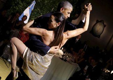 El tango de Obama, en imágenes