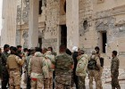Ejército sirio gana terreno en la antigua ciudadela de Palmira