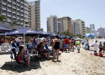 Tiroteo y dos muertos en una playa de Acapulco