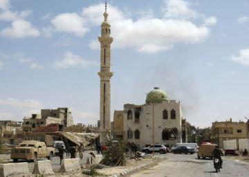 Palmira tras la retirada del ISIS