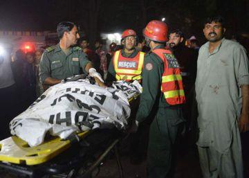 Más de 70 muertos en un atentado en Lahore