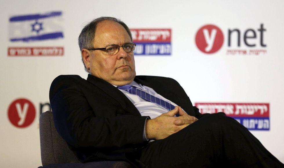 Dani Dayan, exlíder del movimiento colono judío, este lunes en una conferencia en Jerusalén.