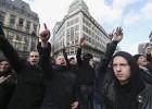 La actuación de los ultras belgas agrieta la unidad por los atentados