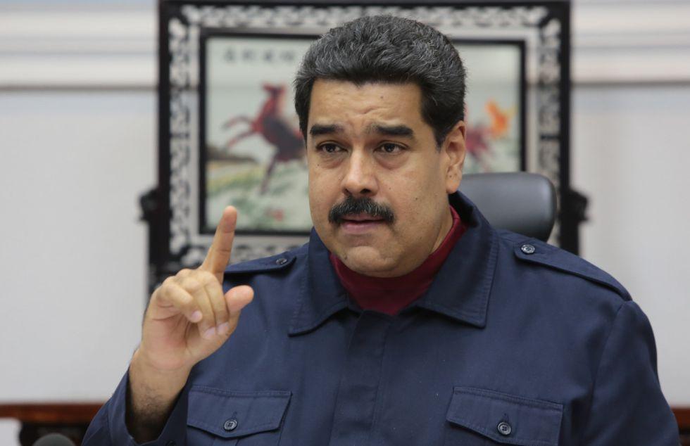 El presidente venezolano, Nicolás Maduro, el pasado 23 de marzo.