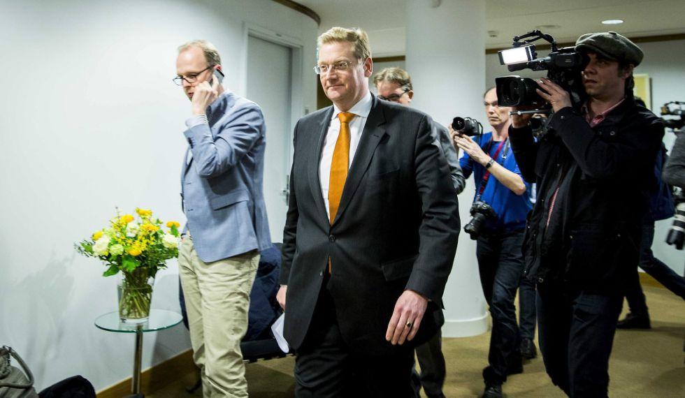 El ministro de Justicia holandés, Ard van der Steur, el pasado jueves en La Haya.
