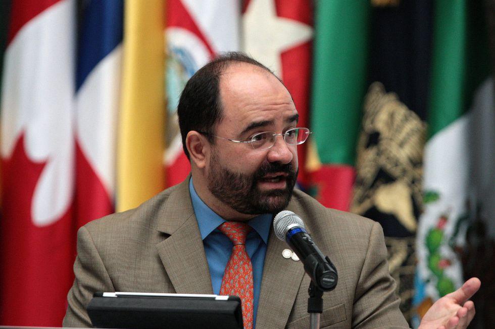 El secretario ejecutivo de la CIDH, Emilio Álvarez Icaza.