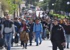 Cientos de refugiados huyen de un centro de detención tras una pelea