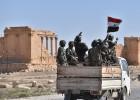 Sangue, minas e uma vala comum nas ruínas de Palmira