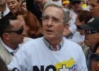 El uribismo marcha contra Santos sin lograr una movilización masiva
