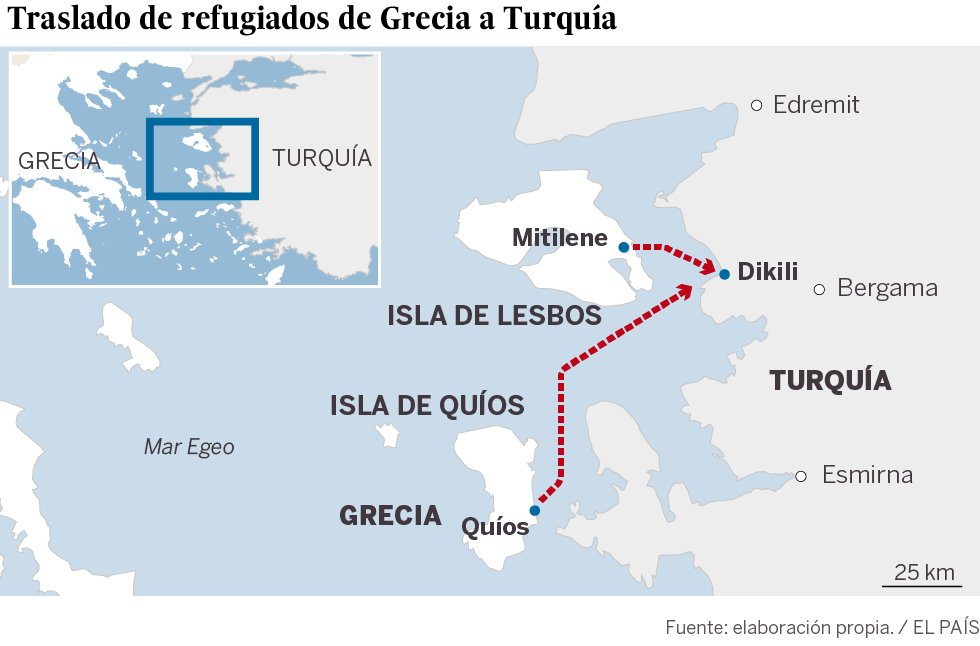 Começam as novas expulsões de refugiados da União Europeia