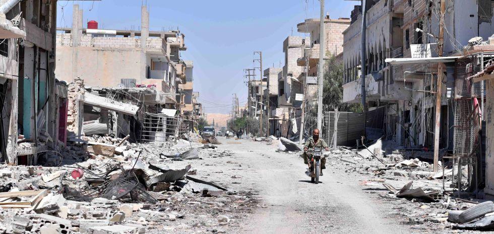 Exército sírio expulsa Estado Islâmico do deserto