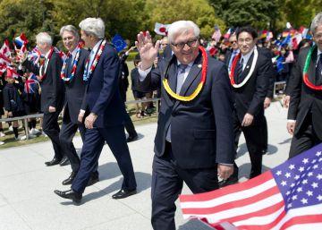 Kerry, primer secretario de Estado de EE UU que visita Hiroshima