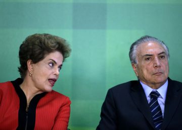 El vicepresidente brasileño Michel Temer se ve ya como presidente