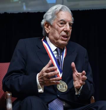 Vargas Llosa, este lunes en Washington