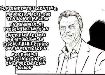 Los papeles de Panamá, en viñetas