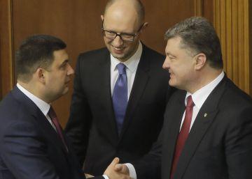 El presidente del Parlamento, nuevo primer ministro de Ucrania